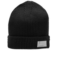 Visvim Cotton Knit Beanie Black