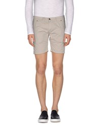 Roy Rogers Roy Roger's Trousers Bermuda Shorts Men Light Grey