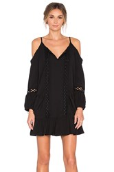 Vava By Joy Han Samira Open Shoulder Dress Black