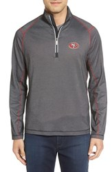 Tommy Bahama Men's 'Nfl Double Eagle' Quarter Zip Pullover