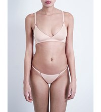 Wolford Sheer Touch Skin Soft Cup Bra Rosepowder