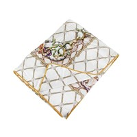 Roberto Cavalli Spider Silk Throw White 180X130cm