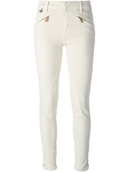 Polo Ralph Lauren 'Whitlyn' Skinny Jeans Nude And Neutrals