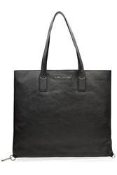 Marc Jacobs Wingman Shopping Leather Tote Black