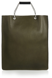 Marni College Two Tone Textured Leather Tote
