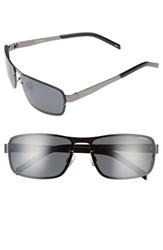 Men's Polaroid Eyewear 63Mm Polarized Sunglasses Dark Ruthenium