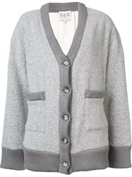 Sea 'Legend' Cardigan Grey