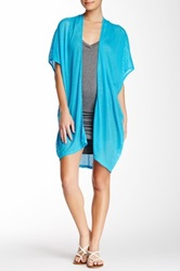 Riller And Fount Emilio Cocoon Cardigan Blue