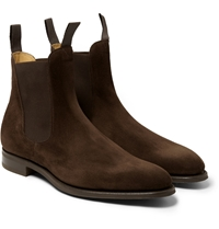Edward Green Newmarket Suede Chelsea Boots