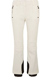 Moncler Grenoble Twill Ski Pants White