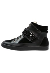 Liu Jo Jeans Hightop Trainers Nero Black