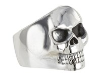 King Baby Studio Small Classic Skull Ring Size Silver