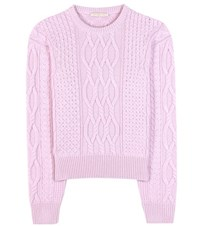 Christopher Kane Wool And Cashmere Sweater Purple