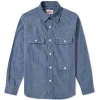 Battenwear Camp Shirt Blue