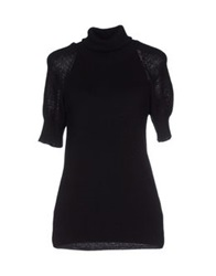 Le Ragazze Di St. Barth Turtlenecks Black