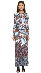 Clover Canyon Floral Sunset Maxi Dress Multi