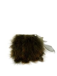 Sonia Rykiel Feather Cuff Khaki
