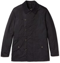 Dunhill Corduroy Trimmed Water Reitant Hell Jacket Navy