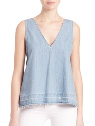 Rag And Bone Sleeveless Drape Tank Top Kenton