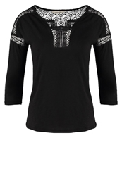 Naf Naf Ohara Long Sleeved Top Black