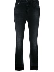Closed Slim Fit Cropped Jeans Black