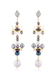 Katerina Psoma Pearl Earrings