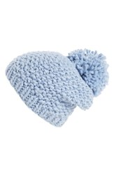 Shiraleah Women's 'Innis' Knit Beanie Blue Powder
