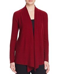 Magaschoni Basic Textured Cashmere Cardigan Fig