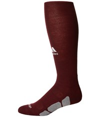 Adidas Utility Over The Calf Maroon White Light Onix Knee High Socks Shoes Brown