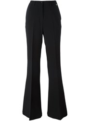 Twin Set Flared Trousers Black