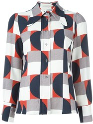 L'autre Chose Geometric Print Shirt Multicolour