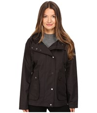 Atm Anthony Thomas Melillo Cropped Techno Parka Black Women's Coat