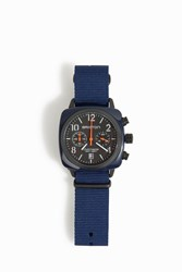 Briston Watches Trendsetter Chrono Watch Navy