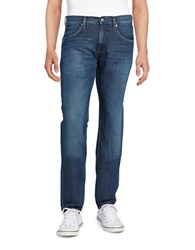 Strellson Straight Leg Jeans Medium Blue