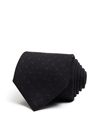 Ralph Lauren Black Label Woven Squares Classic Tie 100 Bloomingdale's Exclusive