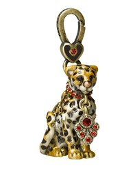 Mara' Leopard Charm Jay Strongwater Ivory