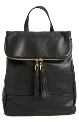 Emperia Faux Leather Backpack Juniors Black