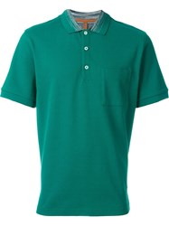 Missoni Logo Polo Shirt Green