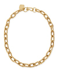 Ashley Pittman 18' Hammered Bronze Chain Necklace