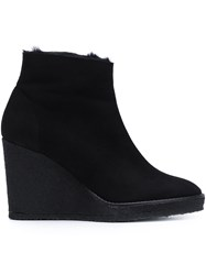 Castaner 'Olya' Wedge Ankle Boots Black