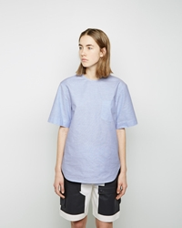 Alexander Wang Short Sleeve Shirttail Pool