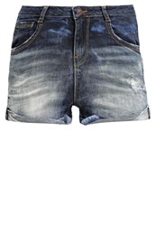 Ltb Amelie Denim Shorts Venita Wash Dark Blue
