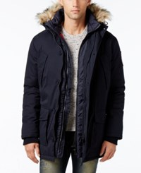 Superdry Men's Everest Twin Peaks Jacket Dark Navy