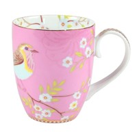 Pip Studio Large Early Bird Mug Pink