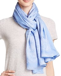 Tory Burch The Traveler Scarf Fresh Water
