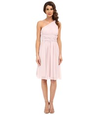 Donna Morgan Rhea One Shoulder Dress Palest Pink Women's Dress