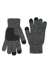Forever 21 Men Marled Knit Gloves