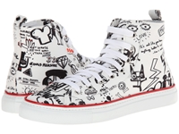Dsquared Printed High Top Sneaker