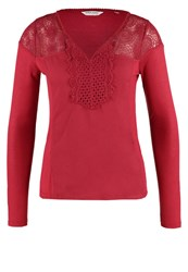Naf Naf Olacy Long Sleeved Top Bourgogne Bordeaux