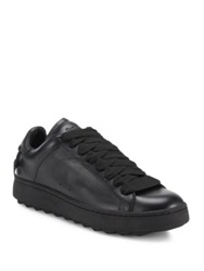 Coach Leather Sneakers Black